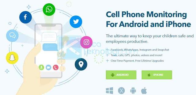 Highster Mobile adalah salah satu opsi termurah untuk melacak dan memata-matai pesan WhatsApp dalam jangka panjang. Highster Mobile memungkinkan Anda melacak berbagai macam media sosial termasuk WhatsApp, Instagram, Facebook Messenger, Line, Skype, Snapchat dan banyak lagi.