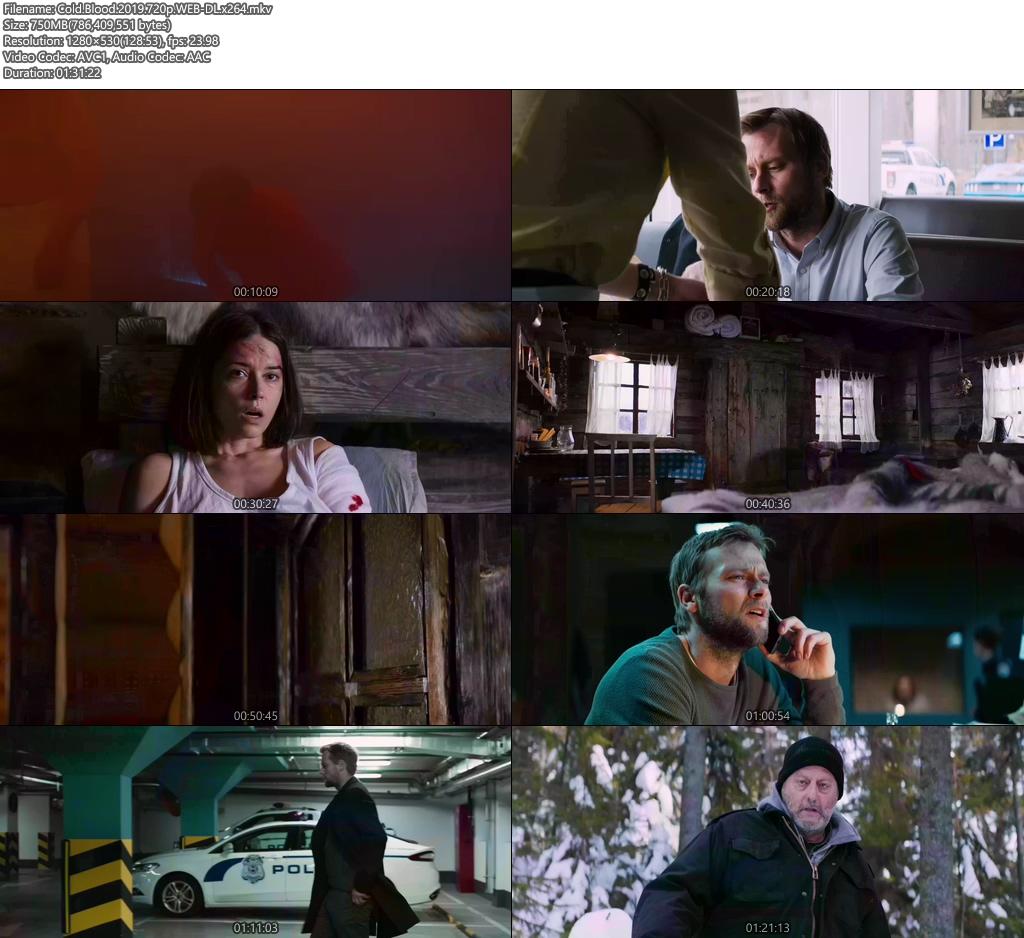 Cold Blood 2019 720p WEB-DL x264 | 480p 300MB | 100MB HEVC Screenshot