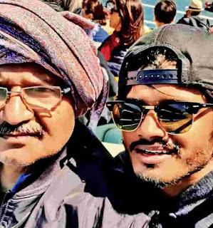 Anand Devarakonda With His Father