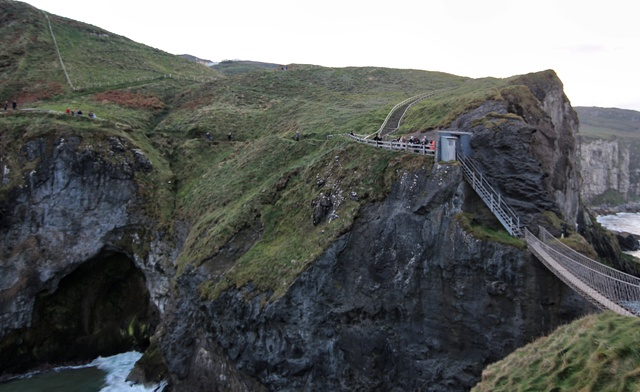 Acantilados de Carrick a Rede Rope Bridge