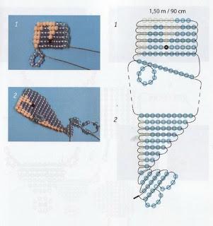 Животные из бисера для начинающих кашалот схема плетения