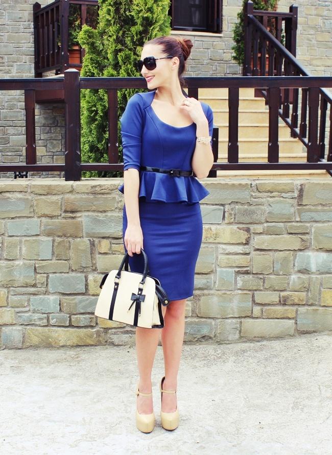 DressLily blue dress