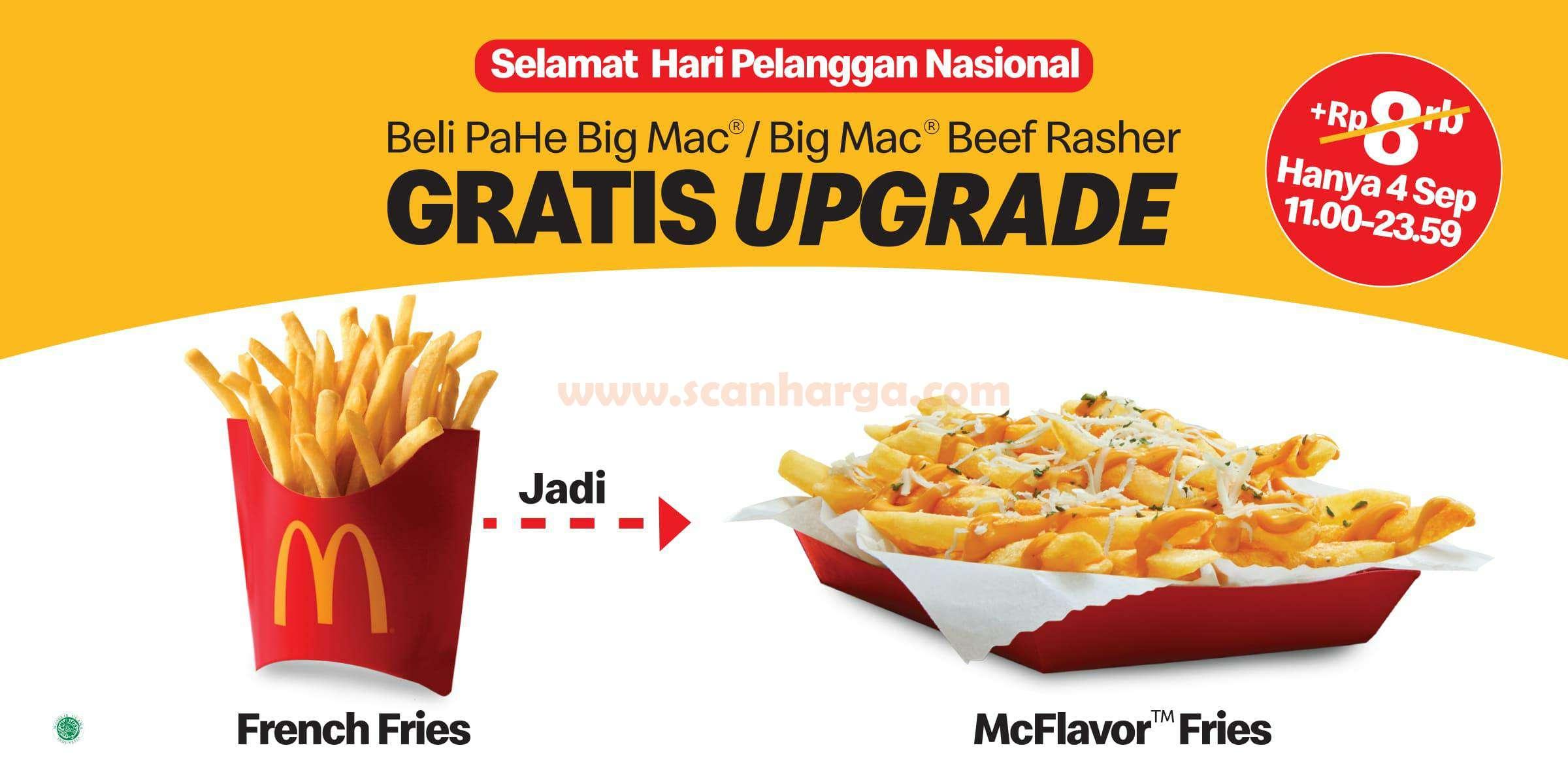 McDonalds Promo Hari Pelanggan Nasional