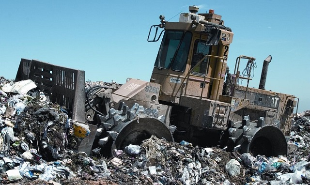 waste produced across UK industries landfill business pollution