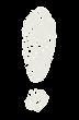 記号のペンキ文字「エクスクラメーションマーク」