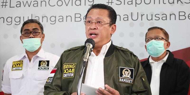 MPR Ajak Masyarakat Disiplin Terapkan Lima Langkah Cegah Covid-19