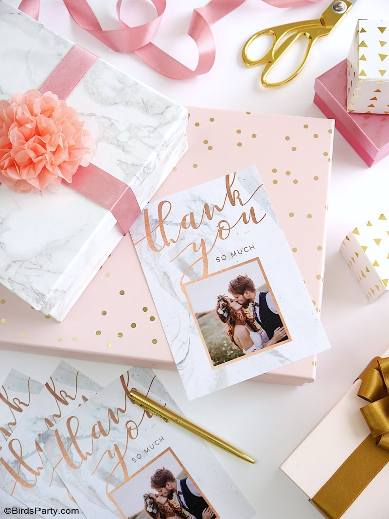 DIY Bridal Shower Stationery & Personalized Gifts DIY Wedding Stationery & Decor -easy and affordable wedding invitations, Save The Dates, decor, favors and party ideas! #WalmartPhoto | #sponsored content created by @birdsparty for @wm_photo_center #wedding #pinkmarblewedding #weddingpartyideas #diywedding #weddingcrafts #weddingsuite #pinkmarbleweddingsuite #diyweddingdecor #weddingdecor #weddingfavors #diyweddinggifts