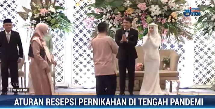Aturan Resepsi Pernikahan di Tengah Pandemi Covid - New Normal