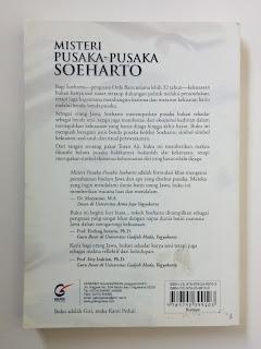 Misteri Pusaka-Pusaka Soeharto