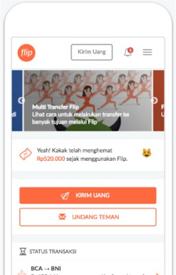 transfer antar bank gratis android