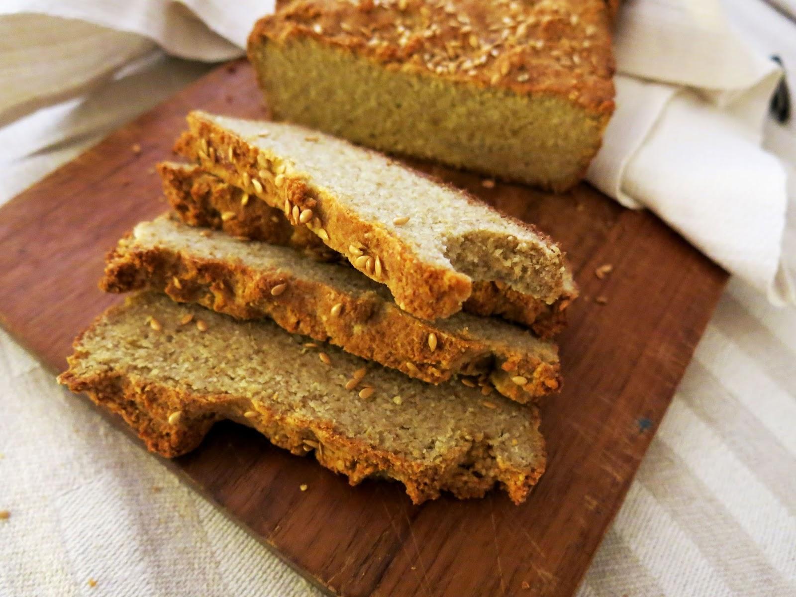 hyvä viljaton leipä