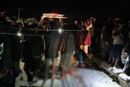 Polisi Tangani Kasus Laka Lantas di Pasar Jibama