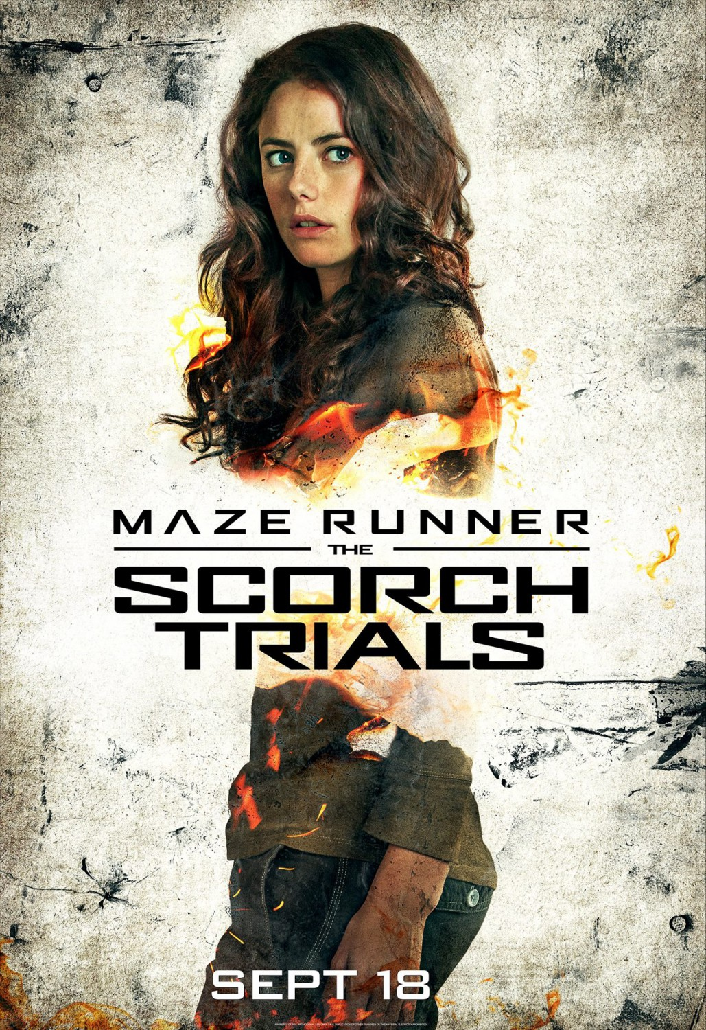 6 New MAZE RUNNER: THE SCORCH TRIALS Character Posters ...