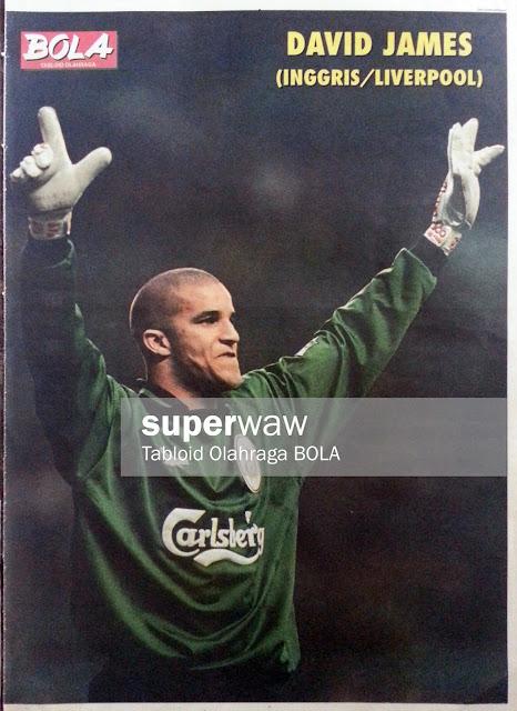 David James Liverpool 1996
