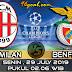 Prediksi Skor : AC Milan vs Benfica 29 Juli 2019