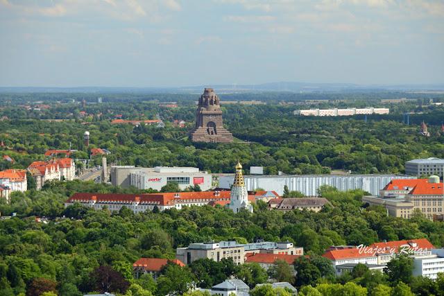 Völkerschlachtdenkmal, Leipzig, Alemania