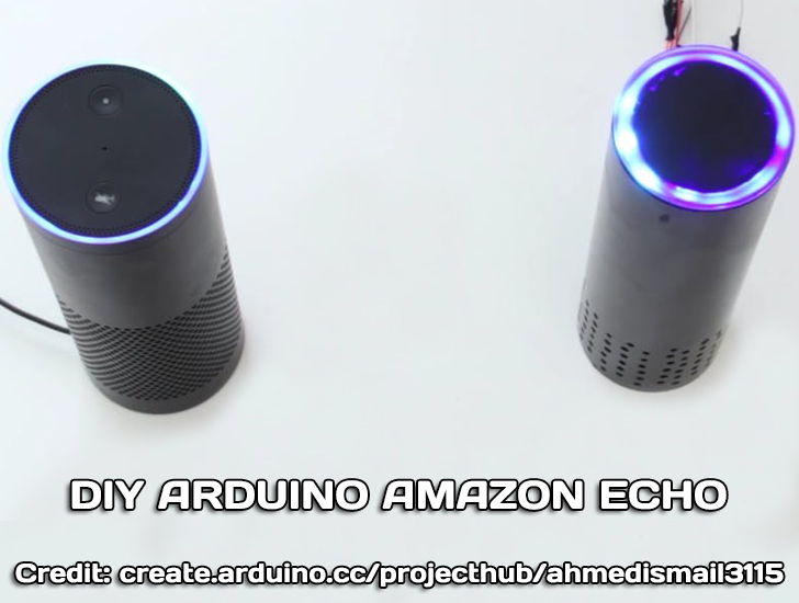 Build DIY Arduino Amazon Echo using 1sheeld