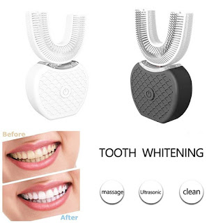 Automatic Sonic Teeth Whitening With Nano Cold Light