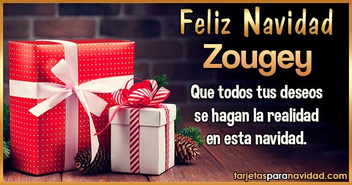Feliz Navidad Zougey