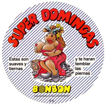 Pegatina Super domingas Jolines BonBon