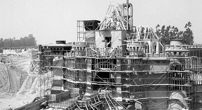 disneyland en construcción