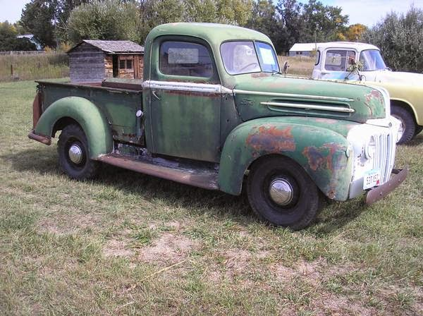 Restoration Project Cars 1946 F1 Ford Pickup Project