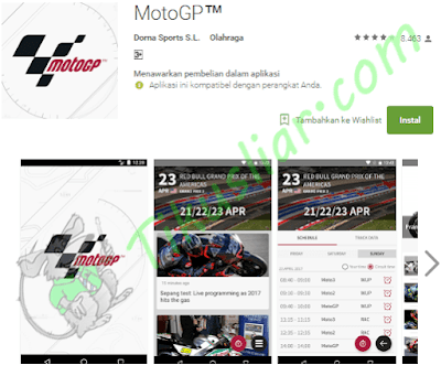 Top MotoGP Online Streaming Aplikasi Android App Live