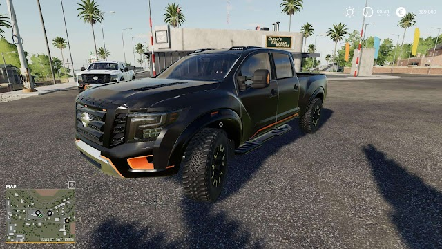 FS19 NISSAN TITAN WARRIOR v2.5