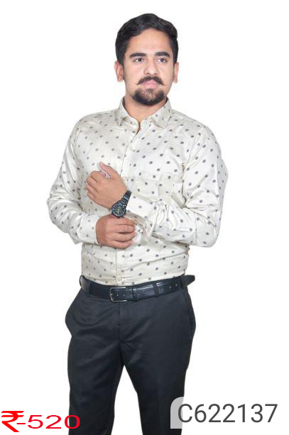 Cotton Printed Regular Fit Casual Shirts