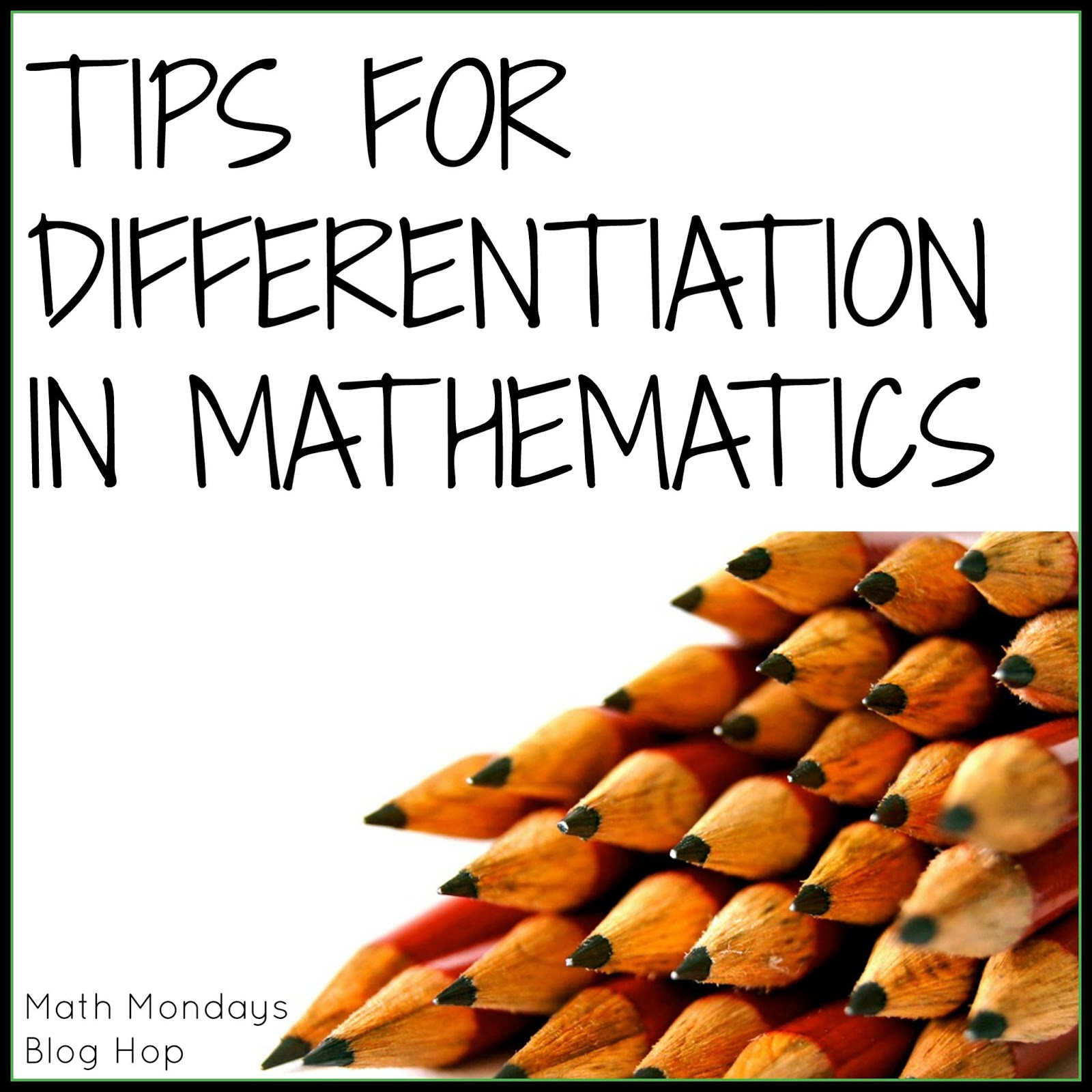 Differentiation 11 Free To Discover