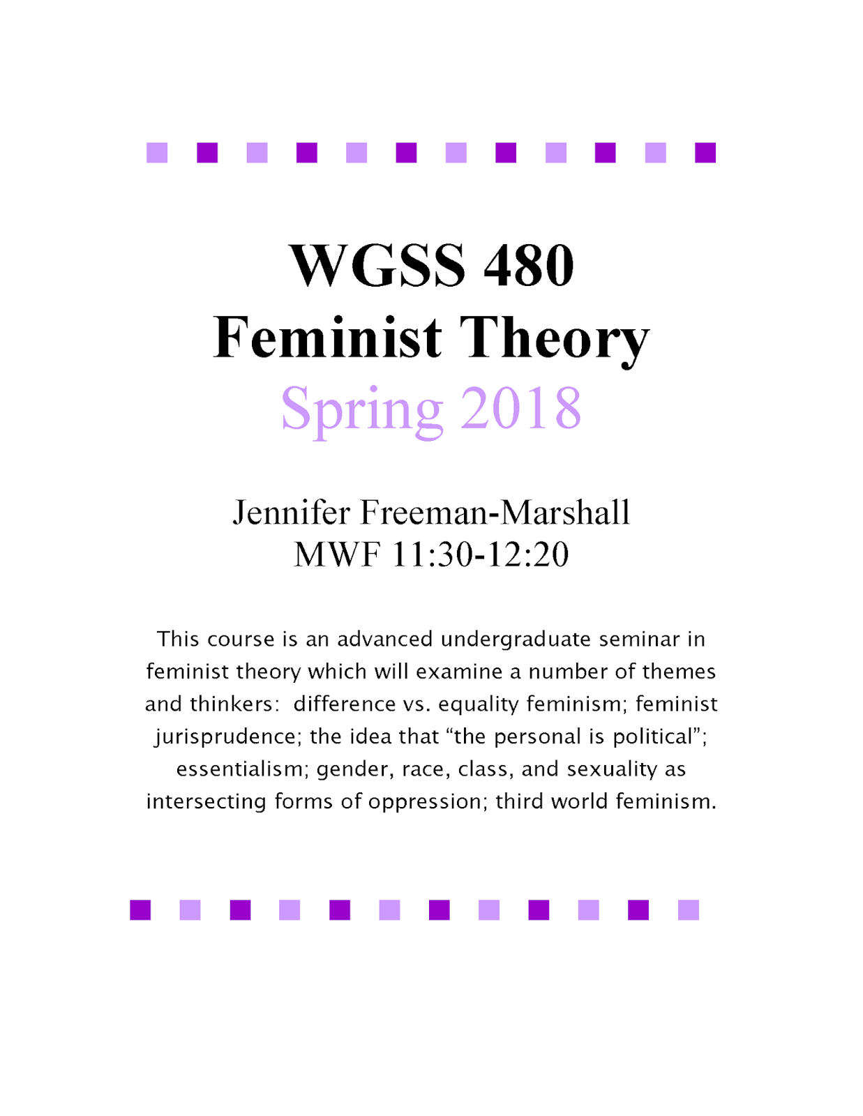 what is the feminist theory