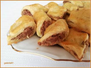 przepis paszteciki z farszem mięsnym