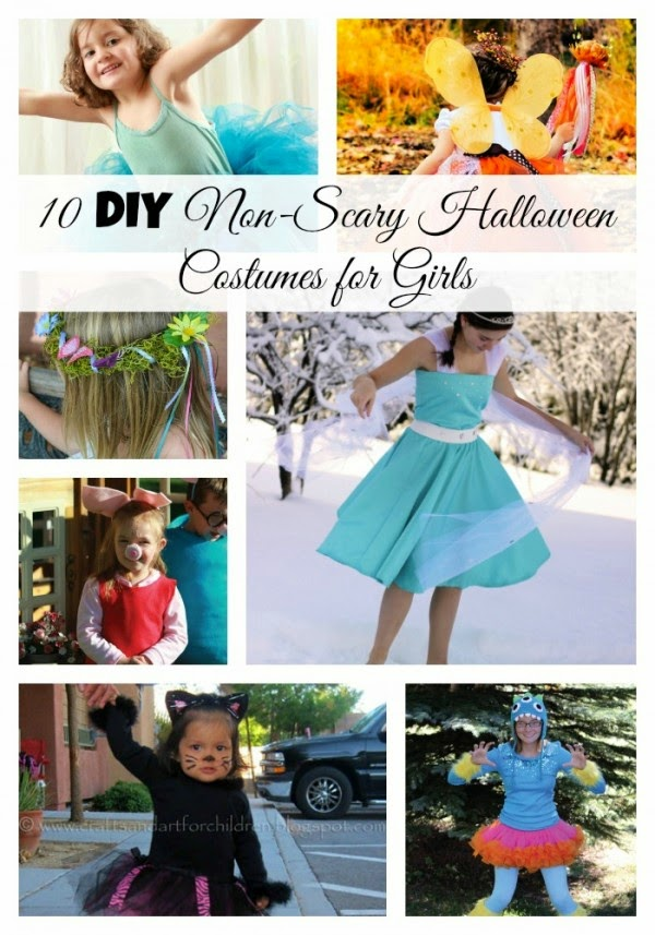 10 Non Scary Halloween Costumes for Girls at Sarah by the Sea
