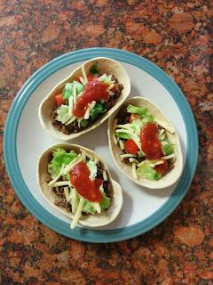 Yummy Stand 'N' Stuff Tacos