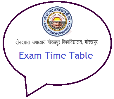 Ddu Time Table Pdf