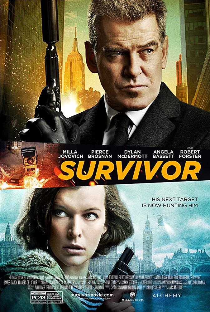Survivor 2015  Full Movies  480p & 720p BluRay Download in multiple audio