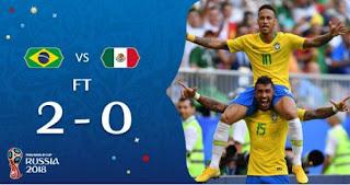 Brasil vs Meksiko 2–0 Video Gol Highlights
