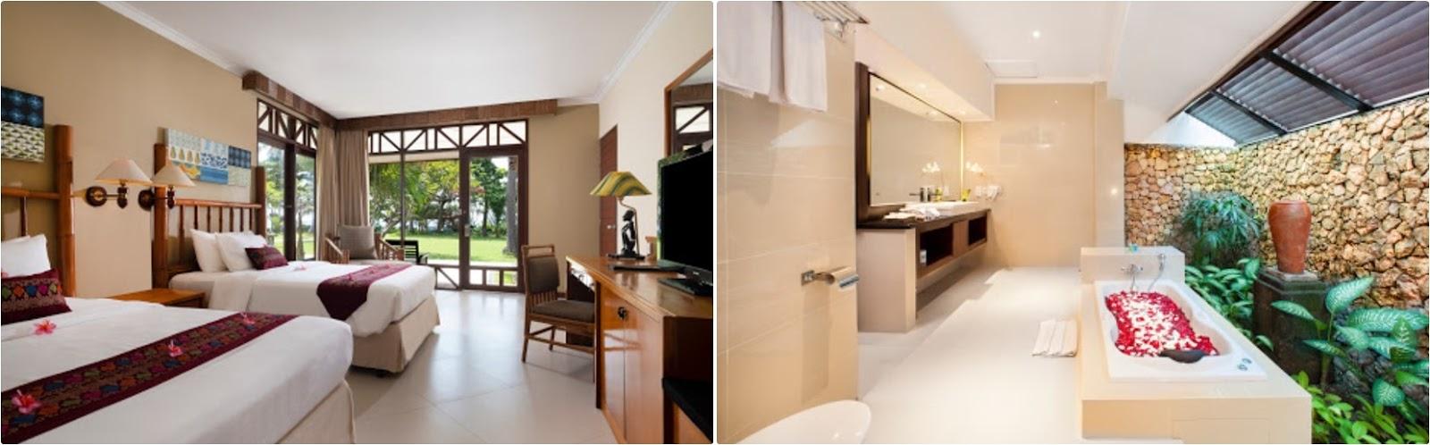 Fasilitas Kamar Hotel Holiday Resort Senggigi Lombok