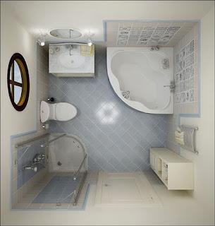 contoh model kamar mandi sederhana minimalis