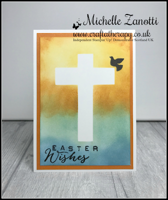 stampin' up! UK Easter sponging cross inspired events butterfly basics labeller alphabet