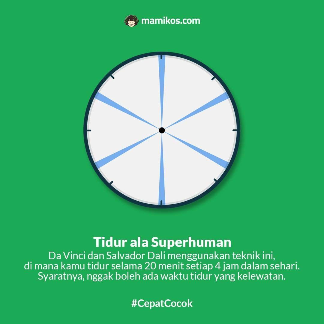 Tidur ala Superhuman