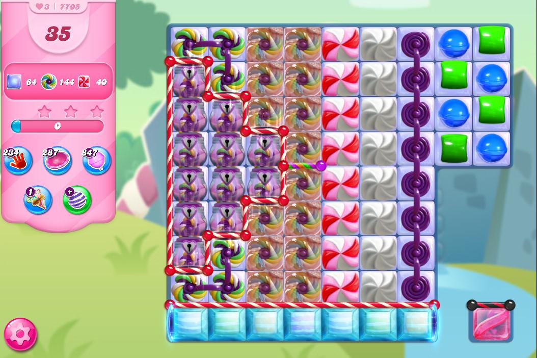 Candy Crush Saga level 7705