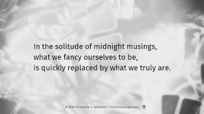 Todays Tendril [20181028] Midnight Musings Copyright 2018 Christopher V. DeRobertis. All rights reserved. insilentpassage.com