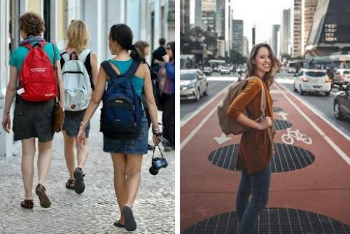 No vestir como un turista en un viaje