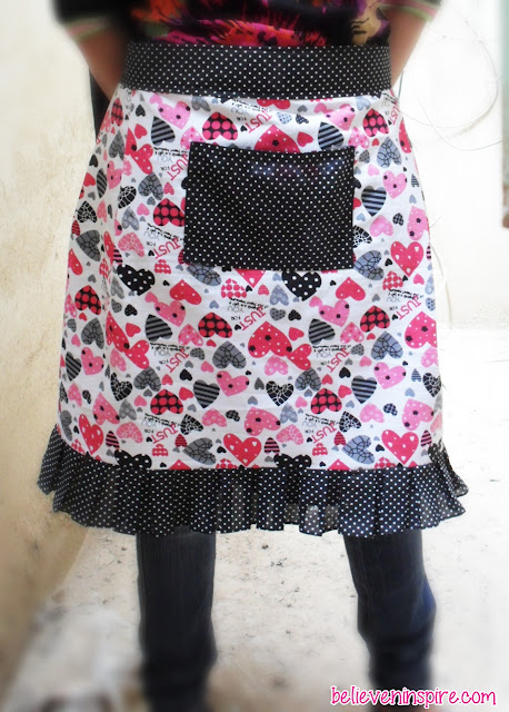 Apron Tutorial With Free Pattern