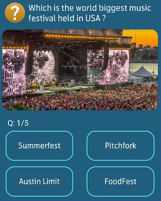 Which is the world biggest music festival held in USA