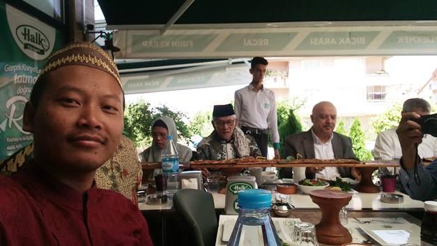 Mendampingi PBNU Mengunjungi Departemen Agama Di Konya Turki