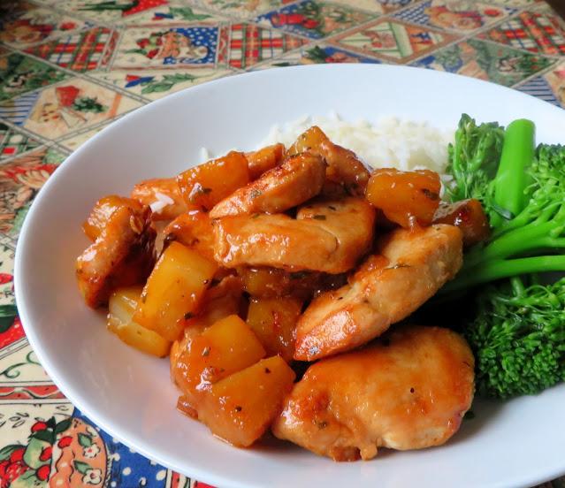 Garlic Butter Pineapple Chicken