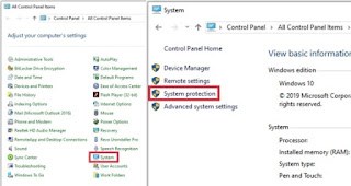 enter-the-system-protection-menu
