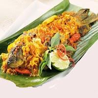 Pepes Ikan Nila plus Nasi